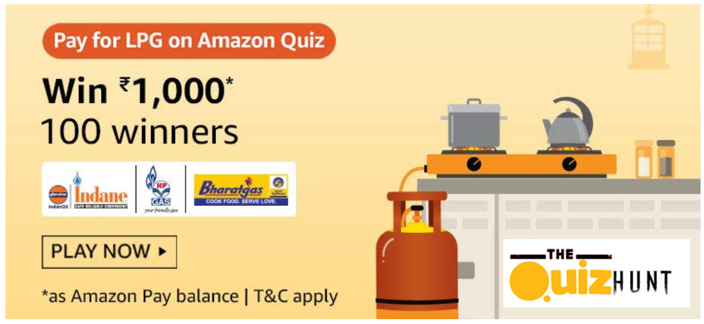 Amazon Pay for LPG Quiz Answers