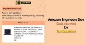 Amazon Engineers Day Quiz