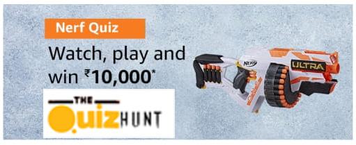 Amazon Nerf Quiz