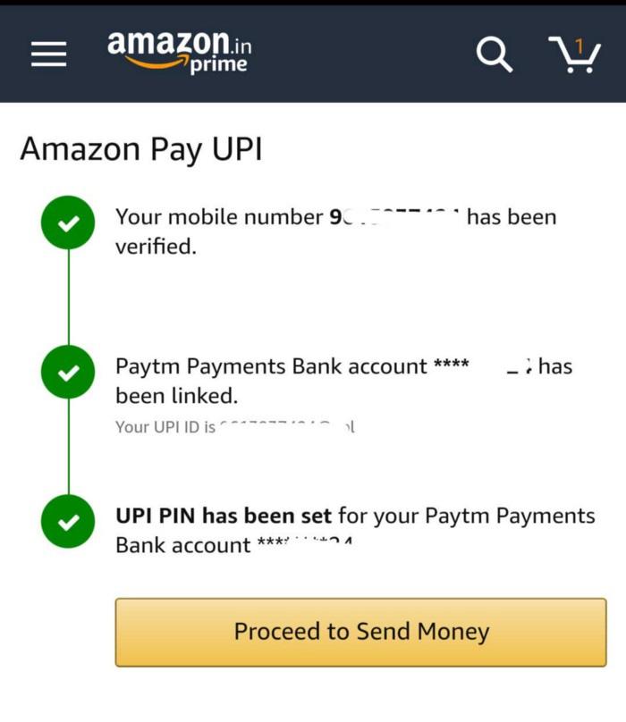 Amazon Pay UPI