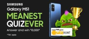 Amazon Samsung Galaxy M51 Quiz