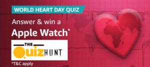 Amazon World Heart Day Quiz