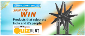 Amazon Gandhi Jayanti Special Quiz