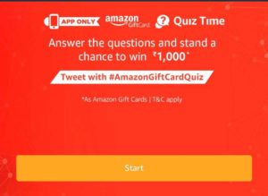 Amazon Pay Gift Cards Quiz