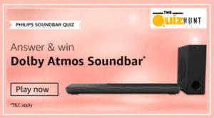 Amazon Philips Soundbar Quiz