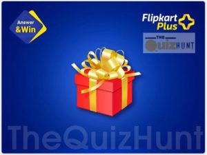 Flipkart Plus Quiz