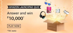 Amazon Launchpad India Started In The Year of 2016