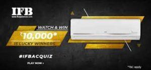 Amazon IFB AC Quiz Answers