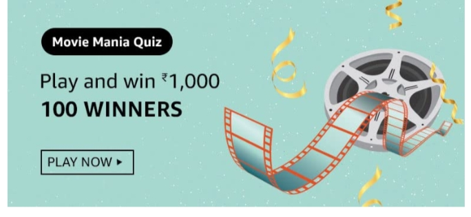 Amazon Movie Mania Quiz Answers: Win Rs.1000 Pay Balance