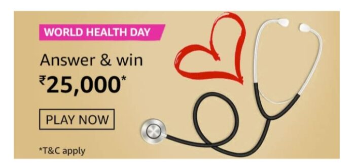 Which of these is the theme of World Health Day 2021? Amazon World Health Day Quiz