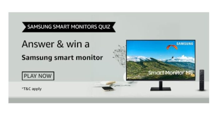 Which feature of Samsung smart Monitor enables one-step screen mirroring with mobiles?