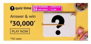 Amazon 19 June Daily Quiz Answers