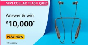 Collar Flash is the latest bluetooth earphones launched by Mivi. Where is the product designed & manufactured from?
